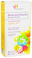 vH Essentials Medicated Douche Maximum Strength Fragrance Free 9 oz [012277537066]