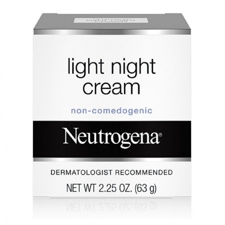 Neutrogena Light Night Cream 2.25 oz [070501055502]