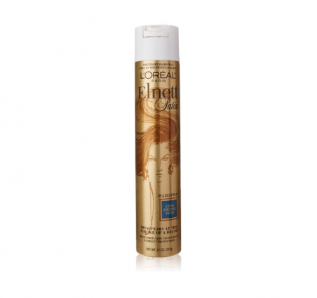 L'Oreal Elnett Satin Hairspray Extra Strong Hold 11 oz [071249153796]