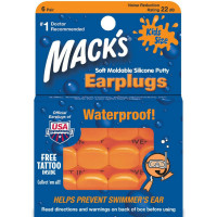Mack's Kids Size Soft Moldable Silicone Ear Plugs 6 ea [033732000109]