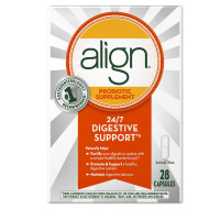 Align Probiotic Supplement 24/7 Digestive Support, 28 Capsules [037000143437]