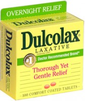 Dulcolax 5 MG Laxative Tablets 100 ea [300836200323]