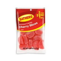 Sathers Cherry Slices 12 pack (4.85oz per pack)   [075602101035]