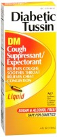 Diabetic Tussin DM Cough Suppressant/Expectorant 4 oz [760569062047]