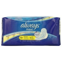 Always Maxi Regular Flexi-Wings Pads 10 ea [037000349679]