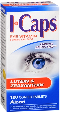 ICAPS Lutein & Zeaxanthin Tablets 120 Tablets [731928040112]