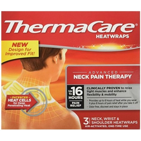 ThermaCare Heatwraps Neck, Shoulder & Wrist 3 Each [305733015025]