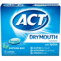 ACT Dry Mouth Soothing Mint Lozenges 18 ea [041167099803]
