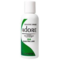 Adore Semi-Permanent Haircolor, Electric Lime 4 oz [661157101646]