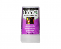 Crystal Body Deodorant Travel Stick, Unscented 1.5 oz [086449002256]