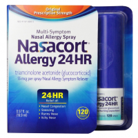 Nasacort Allergy 24 Hour 120 Sprays, 0.57 oz [041167580059]