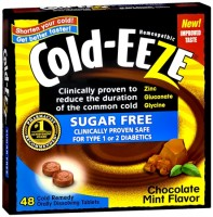 COLD-EEZE Tablets Chocolate Mint Sugar Free 48 Tablets [091108101089]