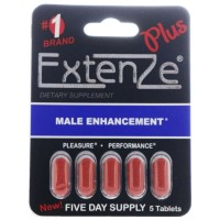 ExtenZe Plus Male Enhancement 5 ea [897343001067]