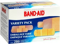 BAND-AID Bandages Variety Pack 280 Each [381370047117]