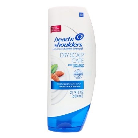 Head & Shoulders Dry Scalp Care Dandruff Conditioner, 21.9 oz [037000945079]
