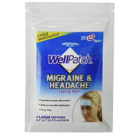 WellPatch Migraine & Headache Cooling Patch 4 ea [310742015706]