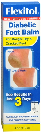 Flexitol Diabetic Foot Balm 4 oz [835787000086]