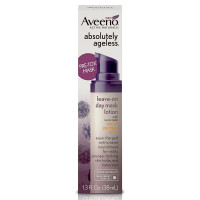 AVEENO Absolutely Ageless Leave-on Day Mask Face Lotion with SPF 30, Anti-Aging Skin Care 1.3 oz [381371172856]
