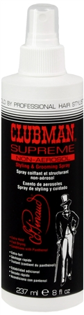 Clubman Supreme Non-Aerosol Styling & Grooming Spray 8 oz [070066027457]