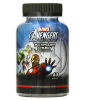 Marvel Avengers Assemble Multivitamin Gummies Assorted Fruit Flavors 60 ea [030768527785]