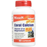 Mason Natural Coral Calcium 1500 mg Capsules 60 ea [311845141552]
