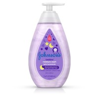 JOHNSON'S  Tear-Free Bedtime Baby, Moisture Wash with Soothing 		 13.6 oz [381371174805]
