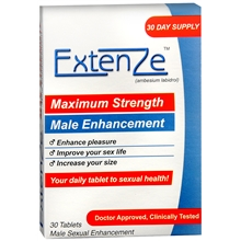 ExtenZe Nutritional Supplement For Men 30 Tablets  [897343001012]