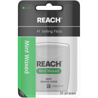 REACH Mint Waxed Floss 55 Yards [381370092179]