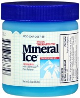 Mineral Ice Pain Relieving Gel 3.50 oz [300672067357]