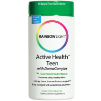 Rainbow Light Active Health Teen with DermaComplex Multivitamin Tablets 60 ea [021888302215]