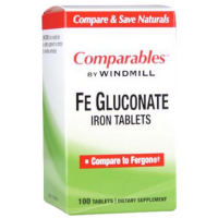 Windmill Fe Gluconate Tablets 100 Tablets [035046000813]