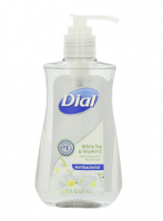 Dial Antibacterial Liquid Hand Soap, White Tea & Vitamin E 7.50 oz [017000026602]