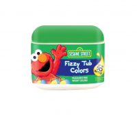 Sesame Street Fizzy Tub Colors Tablets 50 ea [735303209323]