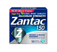 Zantac 150 Tablets Cool Mint 50 ea [681421032032]