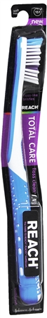 REACH Total Care Floss Clean Toothbrush Soft Full 1 Each [381371991945]