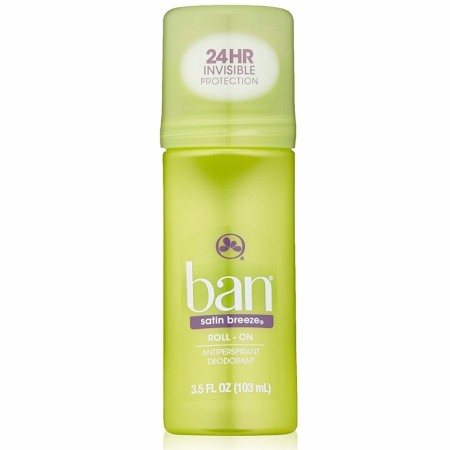 Ban Anti-Perspirant Deodorant Original Roll-On Satin Breeze 3.50 oz [019045010080]