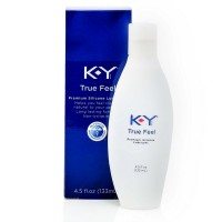 K-Y True Feel, Premium Silicone Lubricant 4.5 oz [067981953978]