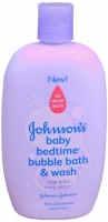 JOHNSON'S Baby Bedtime Bubble Bath & Wash 15 oz [381371024889]