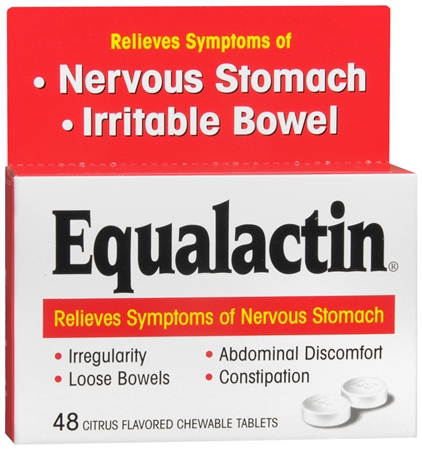 Equalactin Chewable Tablets 48 Tablets [038485000277]
