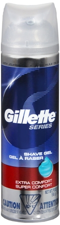 Gillette Series Shaving Gel Extra Comfort 7 oz [047400188044]