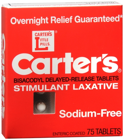 Carter's Laxative Tablets 75 Tablets [022600030430]