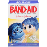 BAND-AID Children's Adhesive Bandages, Disney-Pixar Inside Out, Assorted Sizes 20 ea [381371161140]