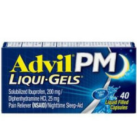 Advil PM Liqui-Gels Ibuprofen Pain Reliever 40 ea [305730167437]