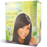 Africa's Best Organics Olive Oil Conditioning Relaxer System, Regular 2 ea [034285246013]