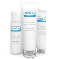 AcneFree Sensitive Skin Acne Clearing System (3 pc kit) 10  oz [301871612034]