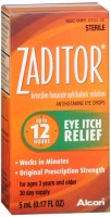 Zaditor Antihistamine Eye Drops 0.17 oz [300650333054]