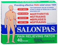 Salonpas Patches Regular 40 Each [346581100402]