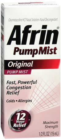 Afrin Pump Mist Original 15 mL [300850756127]