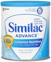 Similac Advance EarlyShield Powder With Iron 12.90 oz [070074559582]