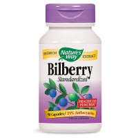 Nature's Way Bilberry Standardized Extract Capsules 90 ea [033674605103]